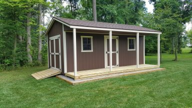 cabin sheds rent to own near me