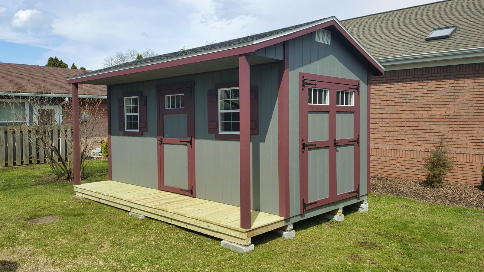 Cabin Sheds For Sale In Central Ohio [2019 Model] | Beachy Barns