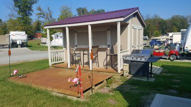 custom shed bar for sale near central ohio