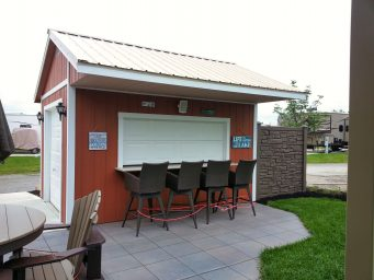 custom shed bar for sale near dayton ohio