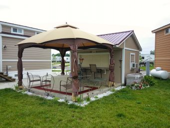 custom shed bar rent to own near springfield ohio