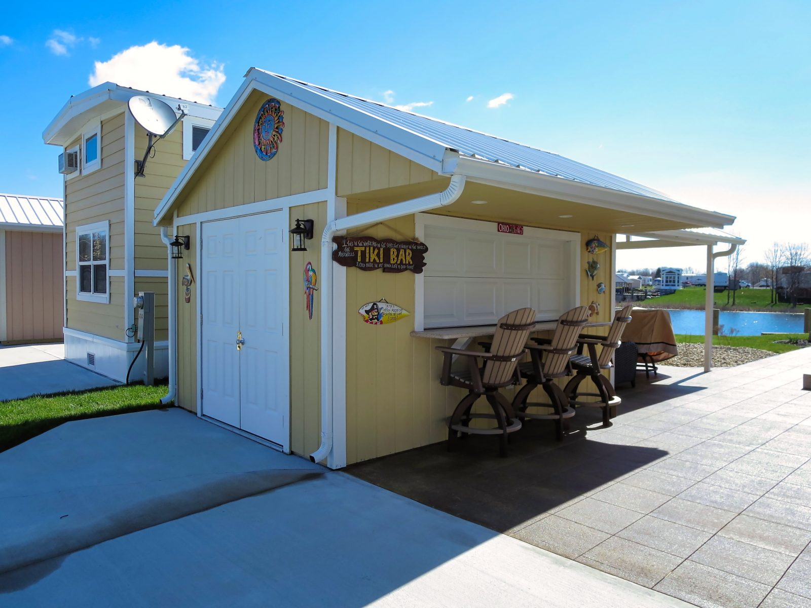 Shed Bar Package | Raise The Bar On Your Storage Sheds