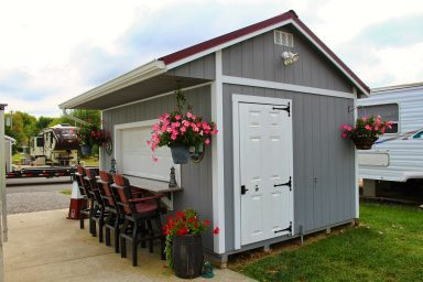 quality shed bar rent to own near marysville ohio