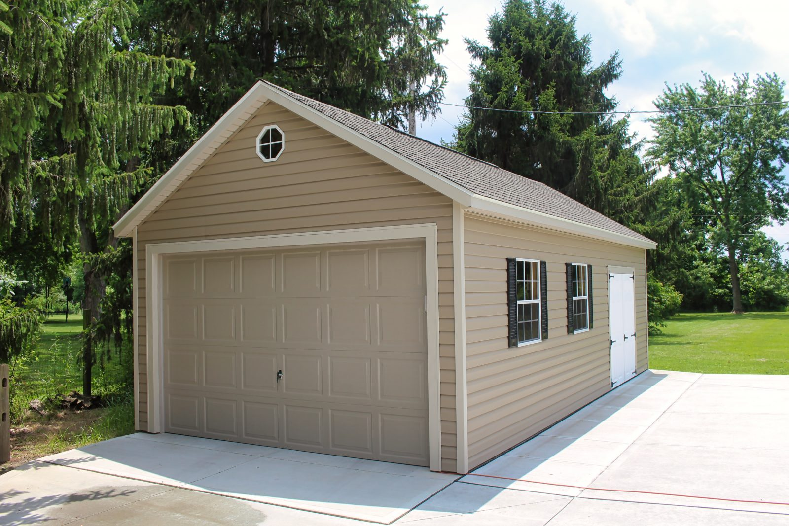Gable Prefab Garages 2020 Models Quality Garages In Ohio