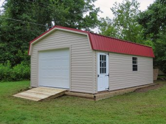 custom garage shed rent to own near columbus ohio