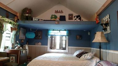 shed ideas bedroom