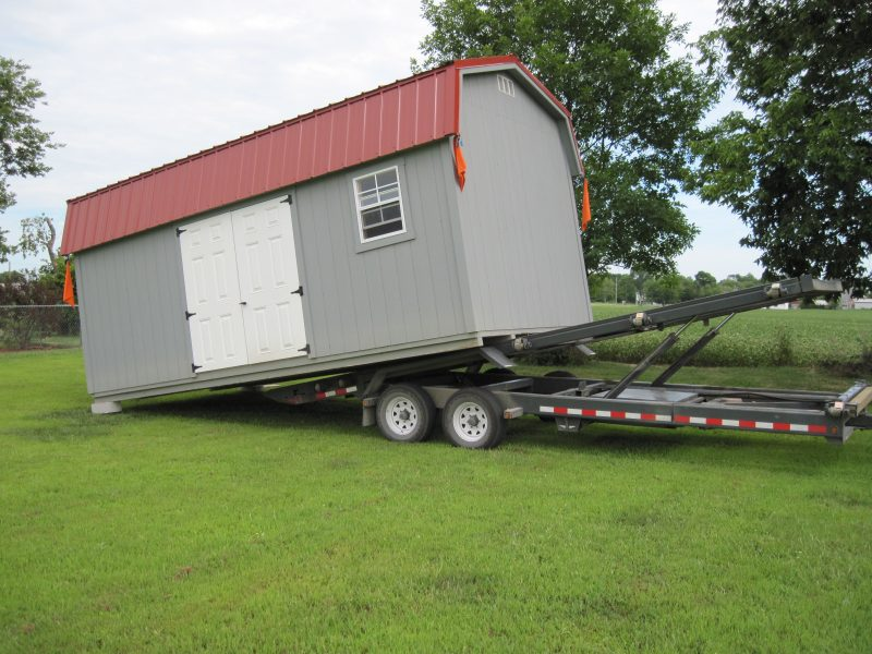 shed delivery in delaware county ohio