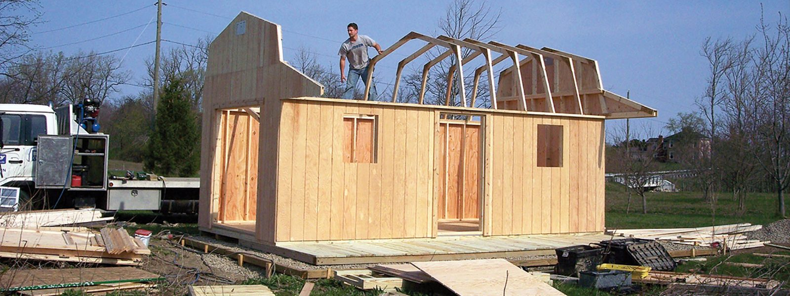 We Build Sheds On Site | Get Your Custom Built Shed Today!