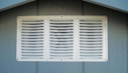 quality sheds aluminum vent