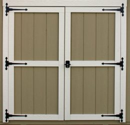 storage shed options modern doors