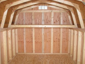 storage shed options loft