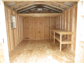 storage shed options workbench