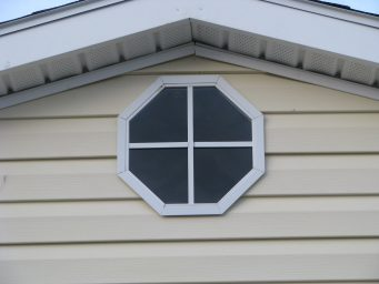 storage buildings octagon window beachy barns