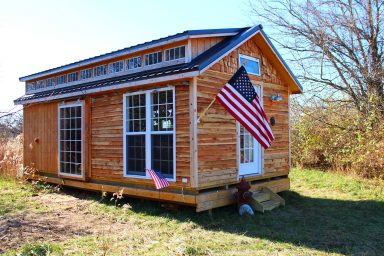 beachy barns tiny house