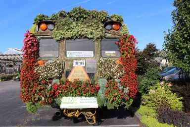 meadow view growers blooming bus with plants