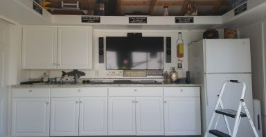 creative shed ideas kitchen