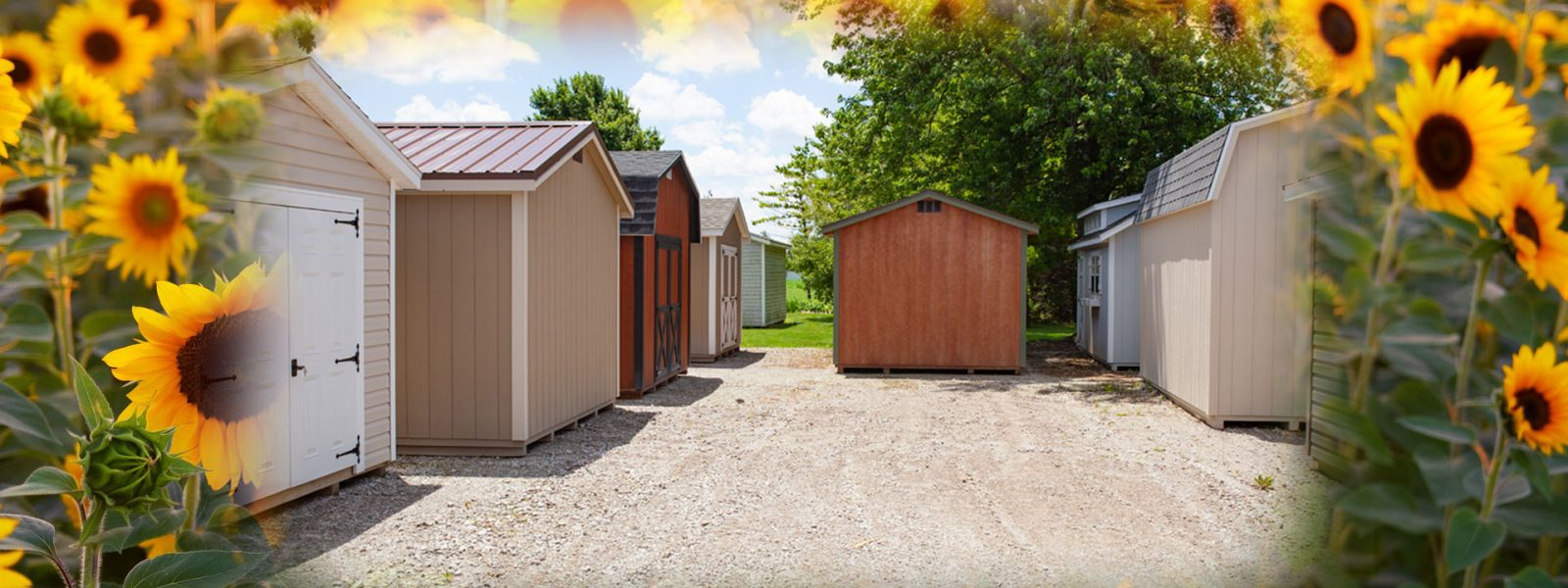 storage sheds for sale in july