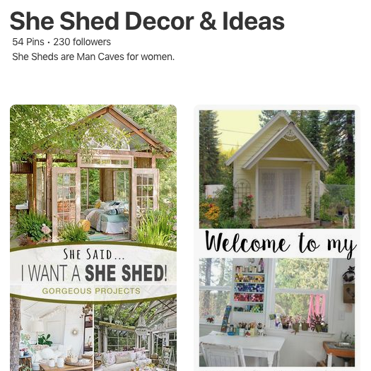 shed interior ideas decor