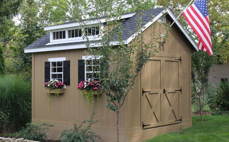 10x12 cottage shed