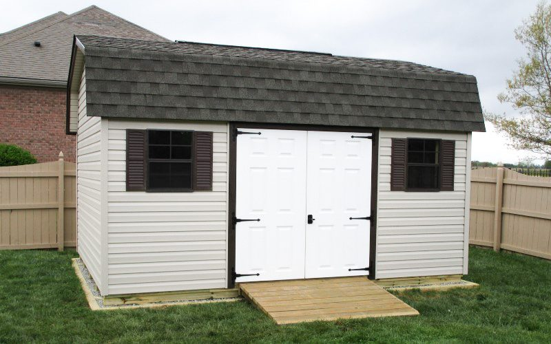 10x12 highwall shed