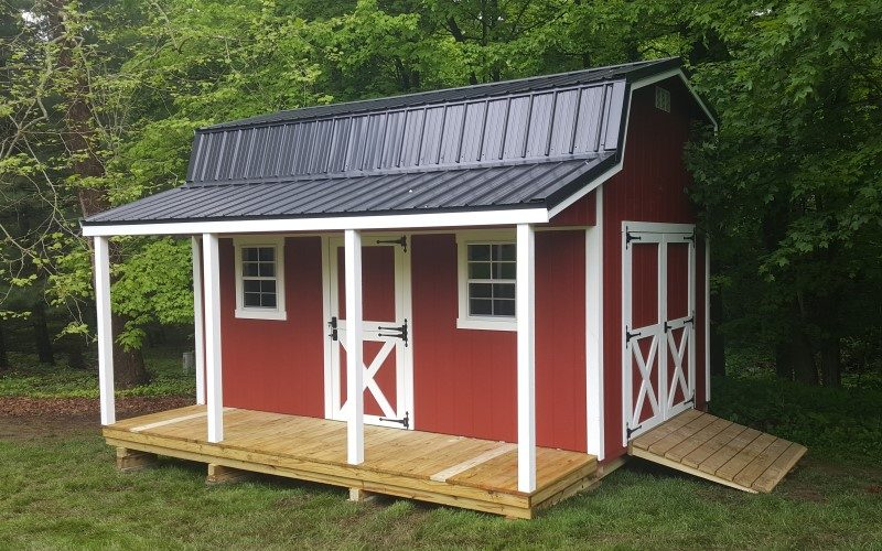10x12 retreat shed