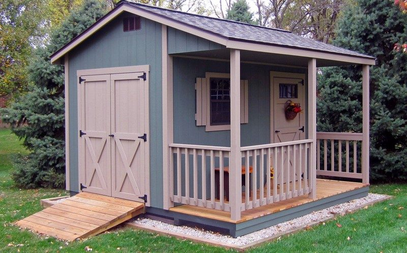 10x12 cabin shed