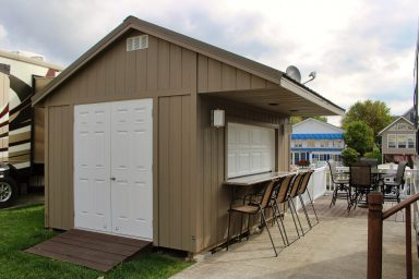 buy shed with bar in columbus