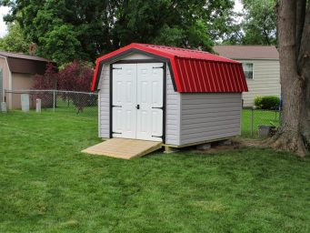 mini barn storage sheds rent to own in central ohio near huber heights