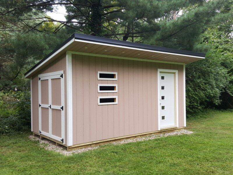 shed kits vs custom sheds