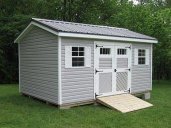 custom shed gable
