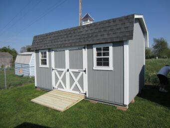 custom shed highwall