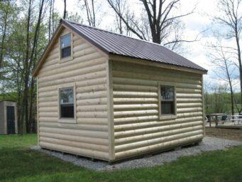 custom shed log