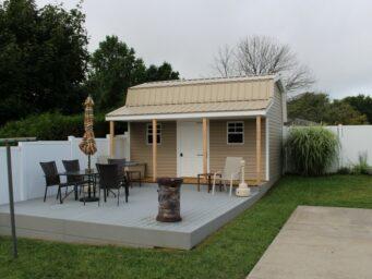 custom shed retreat