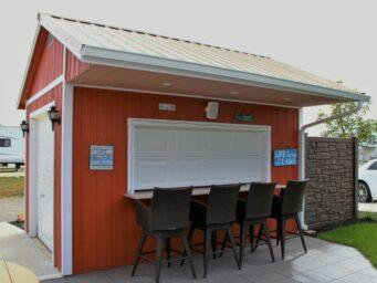 custom bar shed