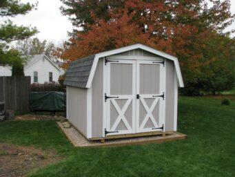 custom mini barn