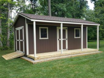 custom shed cabin