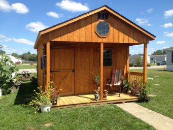 custom shed chalet