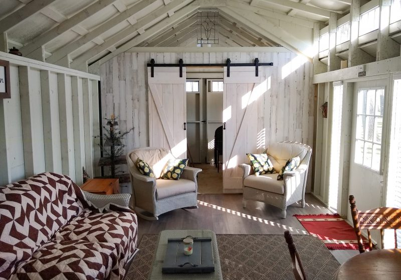 hangout shed backyard cabin sheds customer story 4