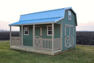 buy prefab sheds with porches in central ohio