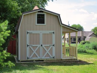 buy prefab sheds with porches near delaware county ohio