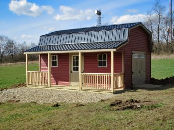 custom prefab sheds with porches for sale in central ohio