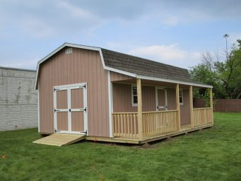 local prefab sheds with porches for sale near central ohio