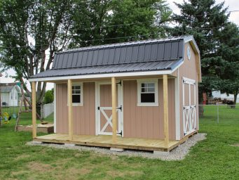 local prefab sheds with porches rent to own near springfield ohio