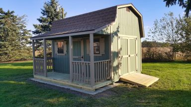 prefab sheds with porches for sale in central ohio