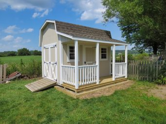 quality prefab sheds with porches for sale near dayton ohio