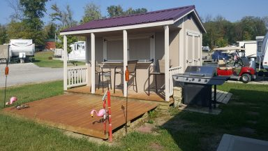porch sheds near dayton ohio