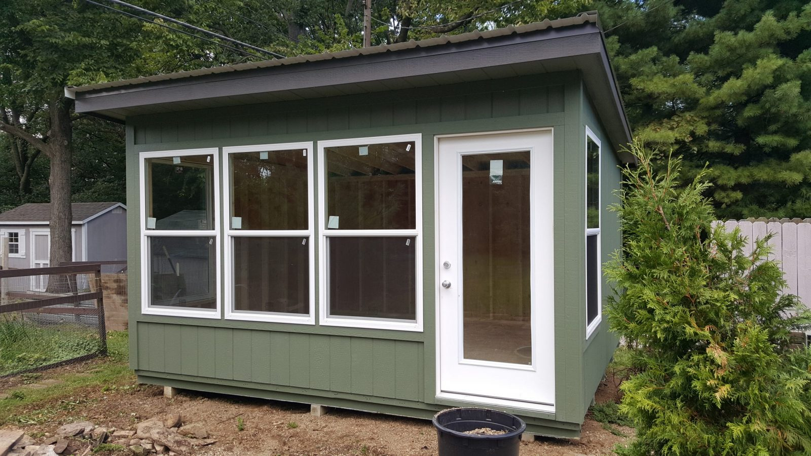 sunroom she shed for sale in ohio