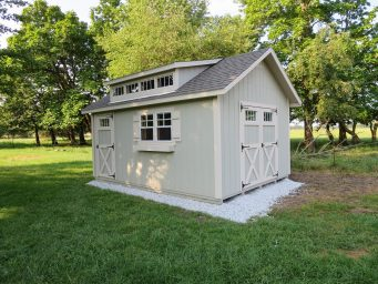 cottage prefab shed near urbana ohio