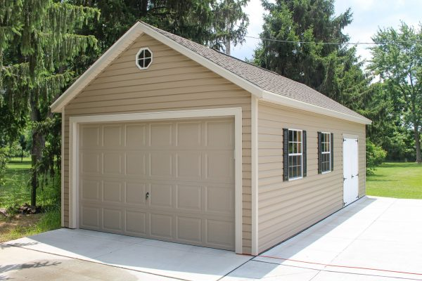 gable prefab garage shed for sale in springfield ohio