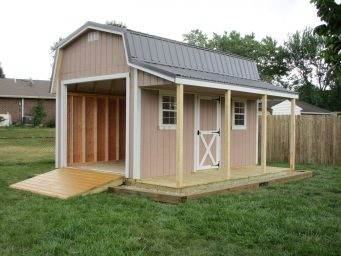 shed with porch for sale in springfield ohio